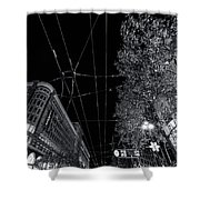 San Francisco In Motion Shower Curtain