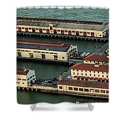 San Francisco International Arts Festival At Fort Mason Center In San Francisco Shower Curtain