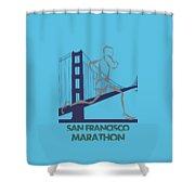 San Francisco Marathon2 Shower Curtain