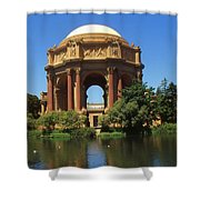 San Francisco - Palace Of Fine Arts Shower Curtain