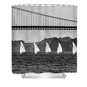 San Francisco Seascape Shower Curtain