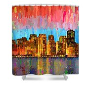 San Francisco Skyline 11 - Pa Shower Curtain
