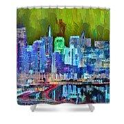 San Francisco Skyline 115 - Pa Shower Curtain