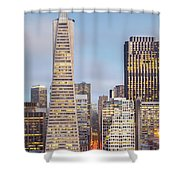 San Francisco Skyline 2 Shower Curtain