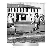 San Francisco Soccer Match Shower Curtain