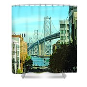 San Francisco Street Shower Curtain