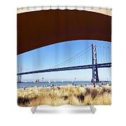 San Francisco Sunday Strollers  Shower Curtain