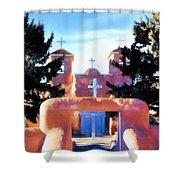 San Fransisco De Asis Shower Curtain
