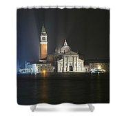 San Giorgio Maggiore By Night Shower Curtain
