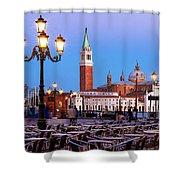 San Giorgio Maggiore From Piazza San Marco - Venice Shower Curtain