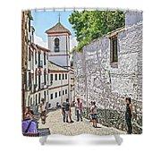 San Gregorio Granada Shower Curtain