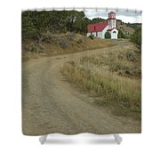 San Iglesia Church Shower Curtain