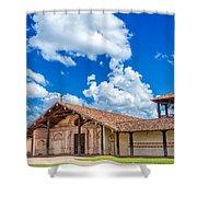San Javier, Bolivia Church Shower Curtain