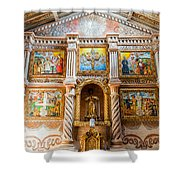 San Javier Church Altar Shower Curtain