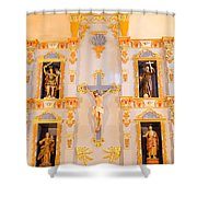 San Jose Chapel Shower Curtain