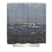 San Juan City Shower Curtain
