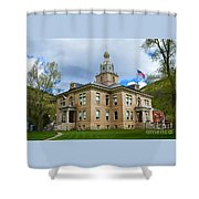 San Juan County Courthouse Shower Curtain