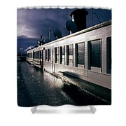 San Juan Islands Ferry Shower Curtain