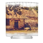 San Juan Mission Residence Shower Curtain
