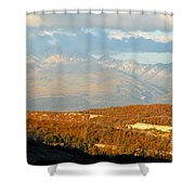 San Juan Mountains Shower Curtain