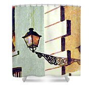 San Juan Street Lamp Shower Curtain