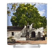 San Luis Mission Shower Curtain