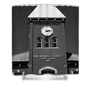 San Miguel County Courthouse Shower Curtain