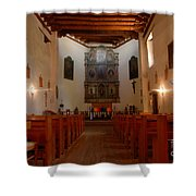 San Miguel Mission Church Shower Curtain