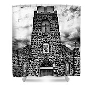 San Miguel, San Miguel, New Mexico, July 2, 2016 Shower Curtain