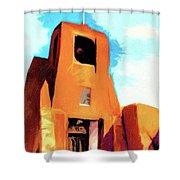 San Miguel Santa Fe Shower Curtain