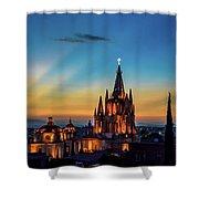 San Miguel Sunset Shower Curtain
