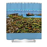 San Pablo Bay California Shower Curtain