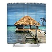 San Pedro La Isla Bonita Shower Curtain