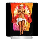 San Recaredo Shower Curtain