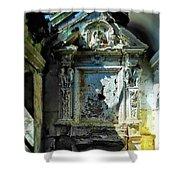 San Rocco Chapel Ruins - Cappella San Rocco Rovine Shower Curtain
