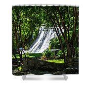 San Saba Waterfall Shower Curtain
