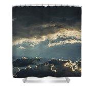 San Salvador Sunset 2 Shower Curtain