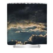 San Salvador Sunset 6 Shower Curtain