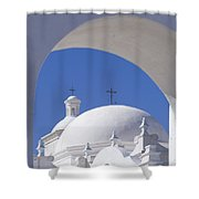 San Xavier Del Bac Shower Curtain