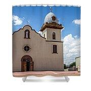 San Ysleta Mission Shower Curtain