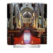 Sanctuary Christ Church Cathedral 1 Shower Curtain