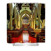 Sanctuary Christ Church Cathedral 2 Shower Curtain
