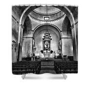 Sanctuary - Mission Concepcion No 2 Shower Curtain