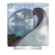 Sanctuary  Shower Curtain