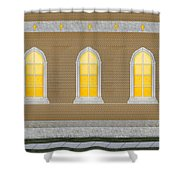 Sanctuary Windows And Walls Shower Curtain