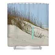 Sand And Grass Shower Curtain