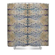 Sand And Parchment Shower Curtain