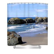 Sand And Sea 11 Shower Curtain