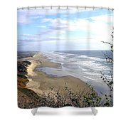Sand And Sea 7 Shower Curtain