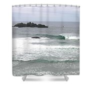 Sand And Sea 9 Shower Curtain